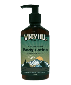 Windy Hill Hemp Hand & Body Lotion 150mg