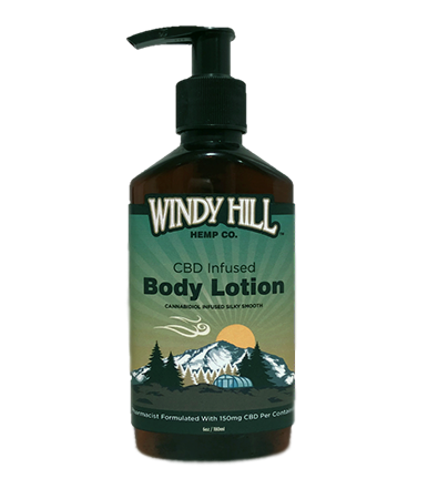 Windy Hill Hemp Hand & Body Lotion 150mg