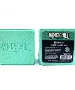Windy Hill Hemp CBD Bath Bomb Eucalyptus