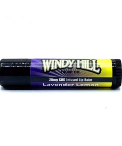 Lavender Lemon CBD Hemp Lip Balm