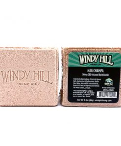 Windy Hill Hemp CBD Bath Bomb Nag Champa