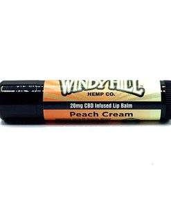 Peach Cream CBD Hemp Lip Balm