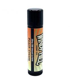 Peach Cream CBD Hemp Lip Balm
