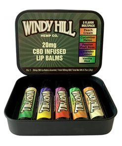 Windy Hill Hemp CBD Lip Balm Multipack
