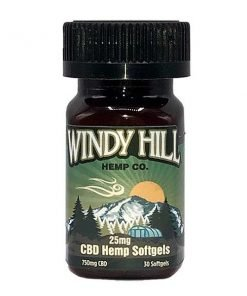 CBD Hemp Softgels 25mg